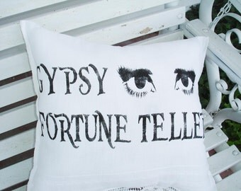 The GYPSY Fortune Teller - **Reusable STENCIL-  Available in 8 sizes- Create your own Mysterious Gypsy signs!