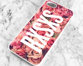 RXSXS, Pink Roses iPhone Case for 4, 4s, 5, 5s, 5c, 6, 6 Plus