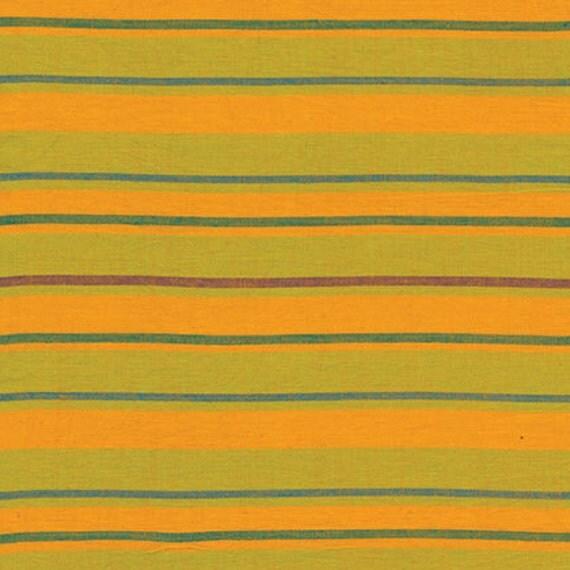 ALTERNATING STRIPE YELLOW Woven Stripe Kaffe Fassett Sold in 1/2 yard increments