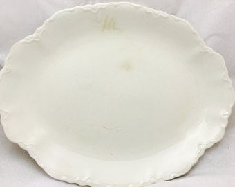 Vintage Johnson Bros JB133 Oval Serving Platter Dish