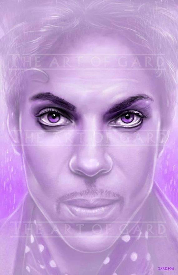 Prince Portrait 11X17 High Quality Art Print