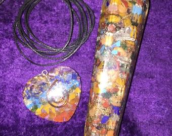 Organite Chakra Wand and Pendant (new price)