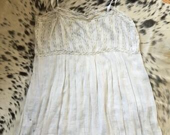 Victorian cotton shift