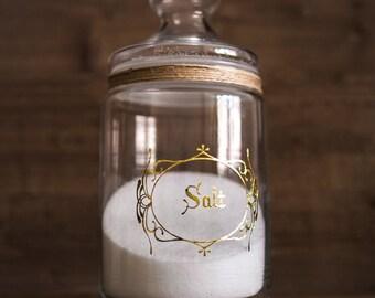 Salt Jar 35oz/1000ml