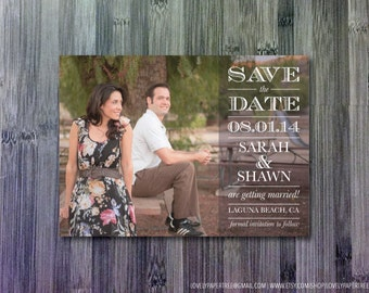 Color Block Save the Date (SD7)
