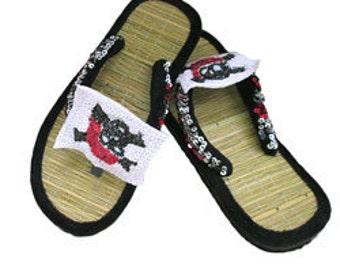Designer Pirate Flip Flop