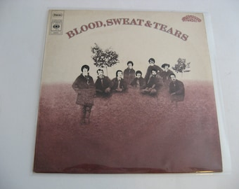 Rare - Italian Pressing! - Blood, Sweat & Tears - Self Titled - Circa 1968