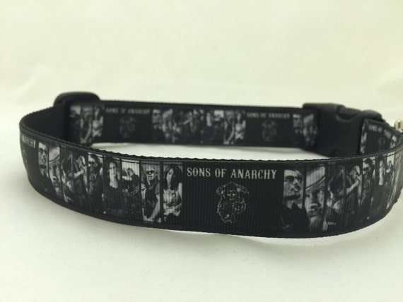 Sons Of Anarchy Dog Collar