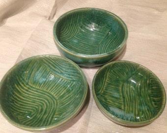 Turquoise Nesting Bowls
