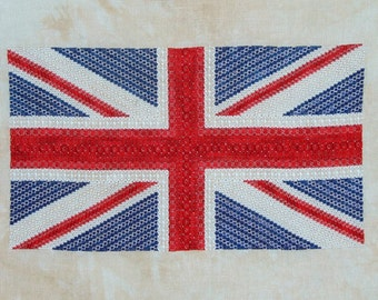 Union Jack PDF Chart by Northern Expressions Needlework