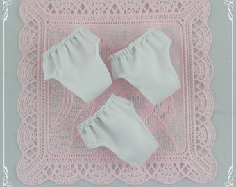 3 White panties Blythe,  Blythe clothes.