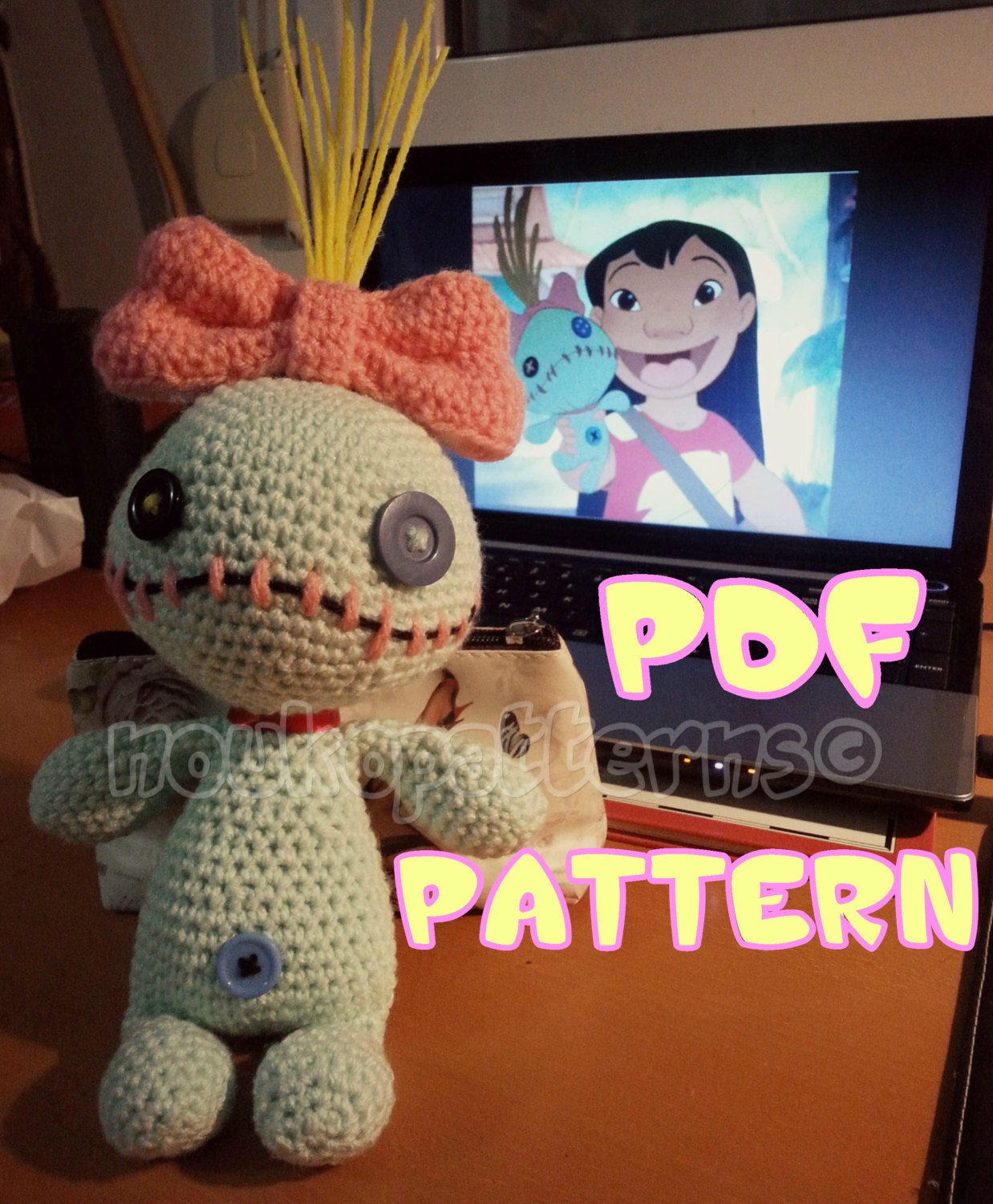 how to make scrump doll