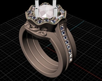 Custom Ring Design, CAD Design, Custom Designed Rings, Custom Design Your Engagement Ring, Custom Made Rings, 3D design of the ring