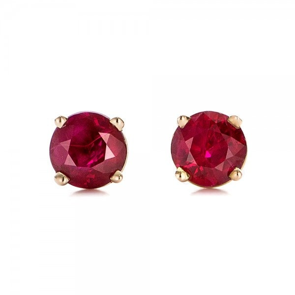 ruby earrings for babies 1 2 carat ruby stud earrings ruby handmade ruby stud 3800