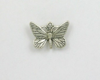 925 Sterling Silver Butterfly Charm - IN08