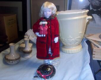 "Gorgeous Avon Childhood Dreams Porcelain Doll Collection: ""Favorite Dolly"" NIB, 1990's"