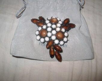Vintage Costume Jewelry Kramer Brooch Pin