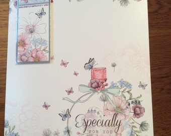 Handmade greetings card - on your special day