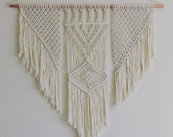 Macrame Copper Wall Hanging