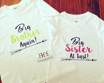 Big Brother Again, Big Sister At Last, Big Brother, Big Sister, Big Brother At Last, Big Sister Again, Big Bro, Big Sis, Little Sister