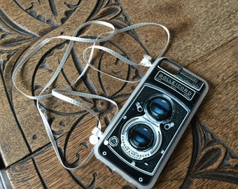 Vintage Camera Cross-body strap phone Case
