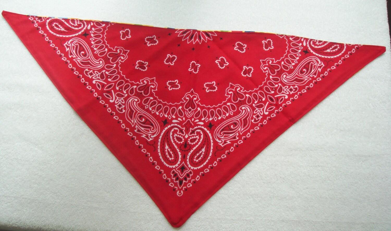 bandana large tie on bandana