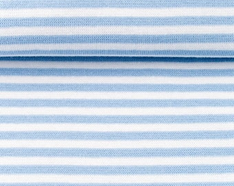 Cuffs - size 80cm - light blue striped