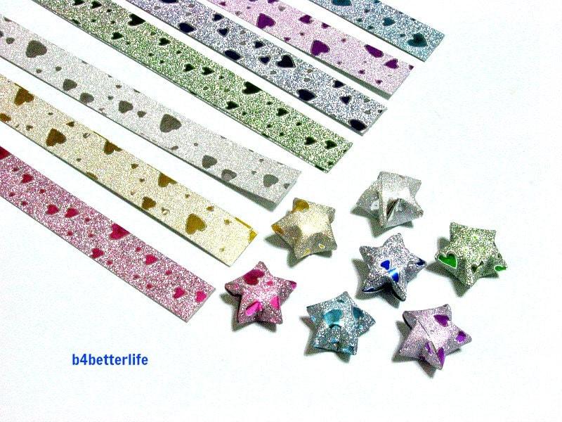 112 strips DIY Origami Star Paper For Folding Medium Size - photo#27