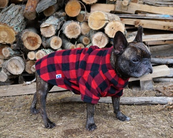 Snorf Industries: the Bullover® - pullover for bulldogs & barrel-chested dogs! Great for pugs, Boston Terriers, Frenchies.