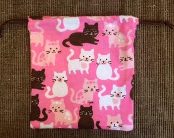 Cute Kitty Pink Bag