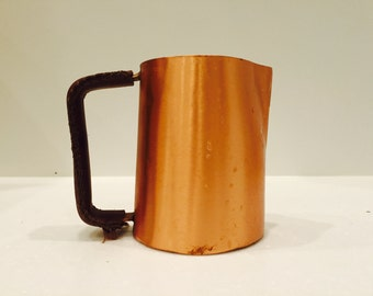 100% Copper Latte Pitcher - 20oz