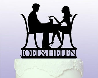 Personalised Couple Cake Topper
