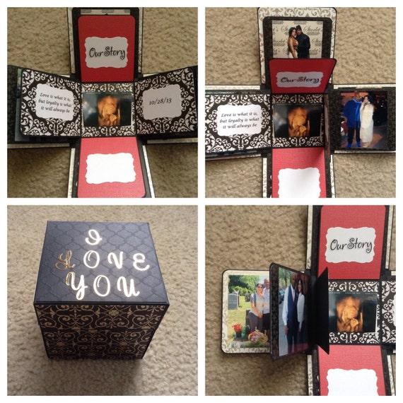 Boxed Photo Albums: Explosion Box Photo Album Photo Box Design Your Own