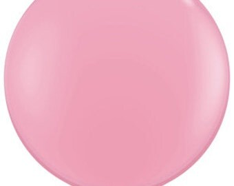 "36"" Baby Pink Balloon,Great Prices Quality Service,Jumvo Pink Balloon,Pink Photo Balloon,Pink Baby Shower Balloon,Pink Wedding Balloon"