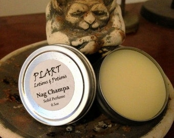 SUMMER SALE Nag Champa Solid Perfume