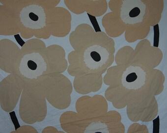 60's original Unikko Marimekko fabric, Made in Finland, Design by Maija Isola