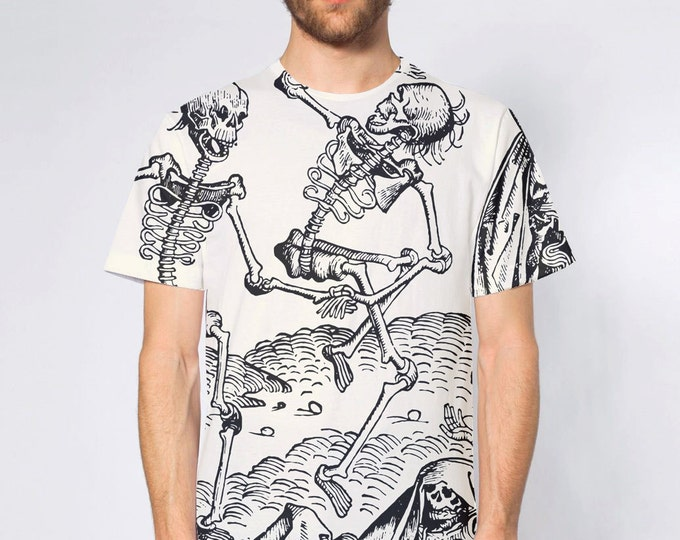 KillerBeeMoto: Dancing With Death All-Over Print T-Shirt