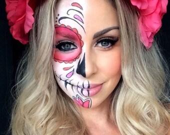 Dias Los Muertos Crown + Make Up Kit