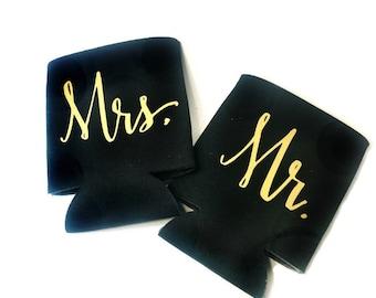 Mr. & Mrs. Drink Holder -Drink Sleeve
