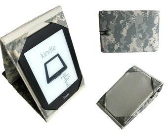 Kindle Cover, Kindle Hardcover, Kindle Paperwhite Cover, Kindle Case, Kindle Paperwhite Hardcover Stand, Camo Camouflage