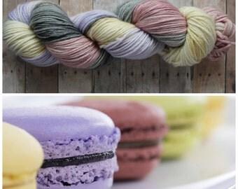 Hand Dyed Superwash Merino DK Yarn - Macaron