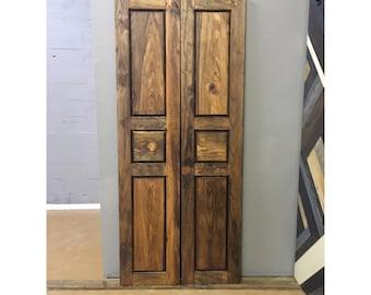 Custom Made Saloon Style Rustic Barn Door By