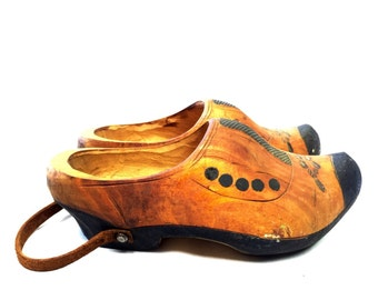 Ms. Stella Olmsted's Clogs WITH SPATS