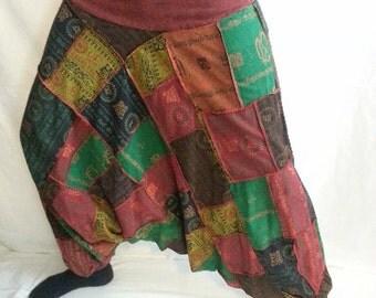 OM 11 - 14 Harem Patch Pants - COLOR CHOICES - 11 through 14