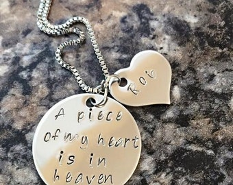 A Piece of my heart Necklace