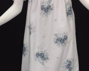 Regency cotton round gown
