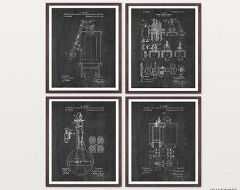 Diesel Engine Patent Art - Diesel Art - Diesel Patent - Diesel Poster - Truck Engine - Car Engine - Engine Art - Mechanic - Truck Poster