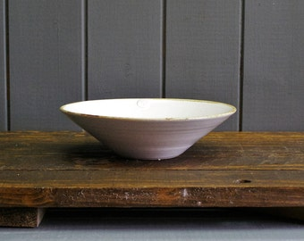 Serving dish - hand thrown pottery