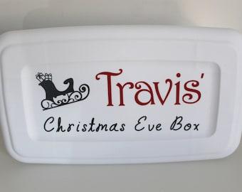 Christmas Eve Box, Night Before Christmas Box, Personalized Christmas Eve Box