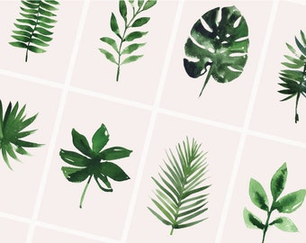 Tropical postcards | Set of 10